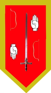 Final heraldry design for Lord Knight Elendir of house Ten-Ar