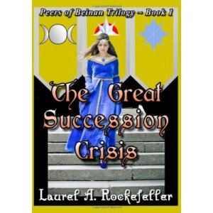 Official first edition cover for The Great Succession Crisis from October, 2012.  Only sixty copies were printed of this edition