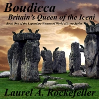 The audio edition of Boudicca:  Britain's Queen of the Iceni by Laurel A. Rockefeller and narrated by Richard Mann