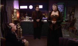 Majel Barrett guest stars on Babylon 5