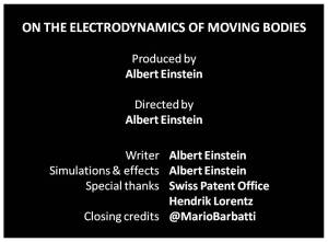 Science should learn from the movies how to properly attribute credits.
