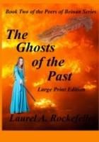 Gone forever:  the large print edition of Ghosts of the Past goes out of print in favor of a larger texted regular paperback edition.