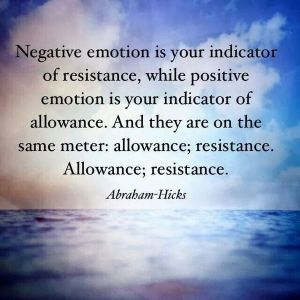 negative emotion is