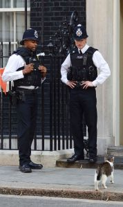 Two London constables on duty.