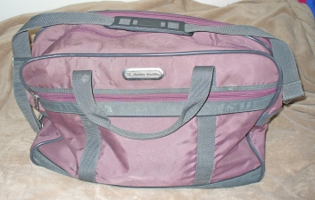 American tourister carry on bag