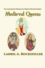 Medieval Queens paperback cover cs