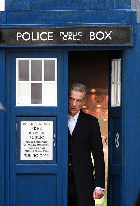 12 leaves TARDIS